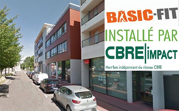 CBRE Impact Installe BASIC FIT à Châlon-sur-Saône (71)