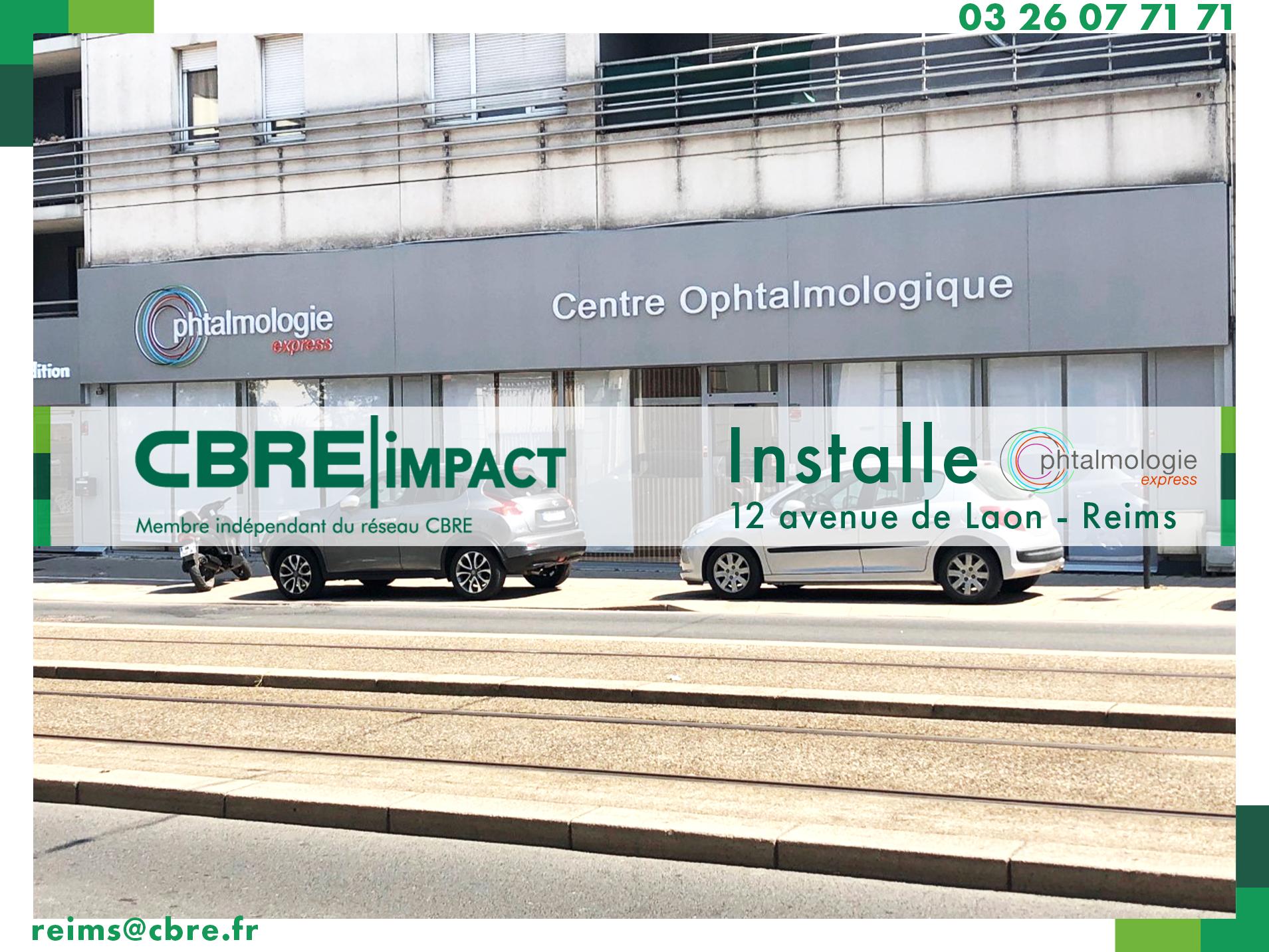 CBRE Impact Installe Ophtalmologie Express